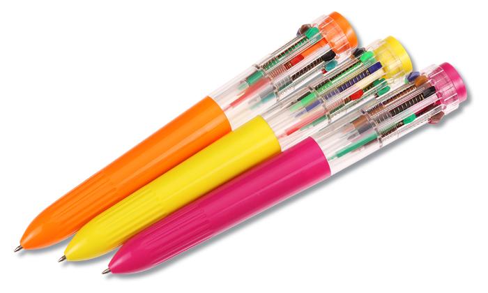multicolor big pen
