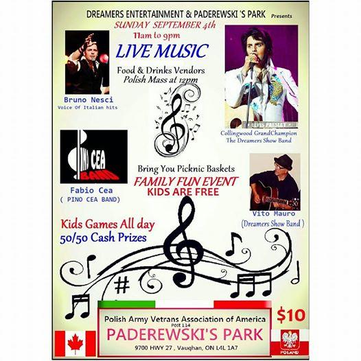 paderewski park poster